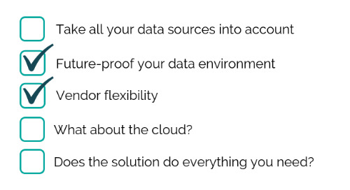 5 Tips for Selecting a Data Management Solution