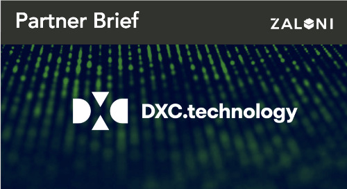 DXC.technology + Zaloni Partner Brief