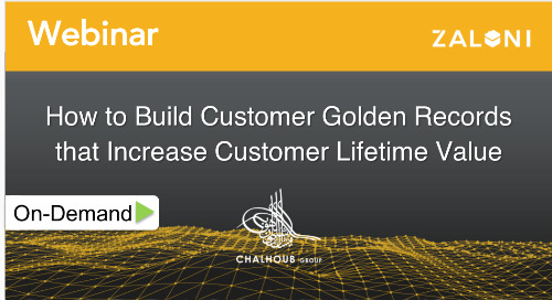 How to Build Customer Golden Records that Increase Customer Lifetime Value