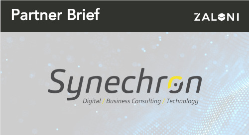 Zaloni + Synechron Partner Brief