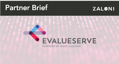 Evalueserve + Zaloni Partner Brief