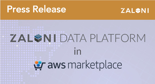 Zaloni Data Platform Now Available in AWS Marketplace