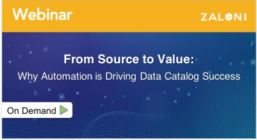 From Source to Value: Why Automation is Driving Data Catalog Success