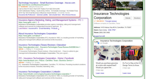 Anatomy of a Search Engine Results Page