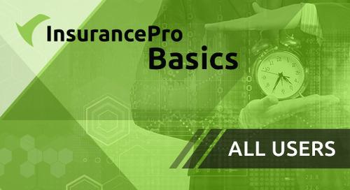 Training - InsurancePro Basics for All Users