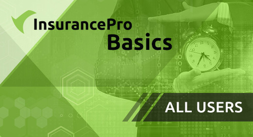 Training - InsurancePro Basics for All Users