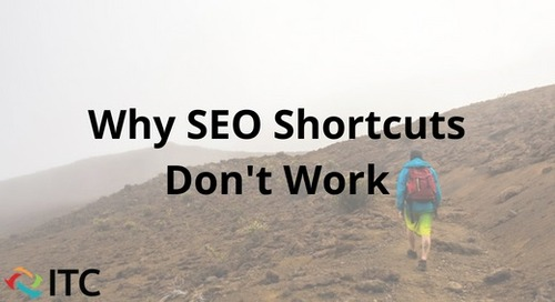 Why SEO Shortcuts Don't Work