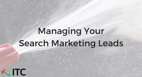 Managing Your Search Marketing Leads