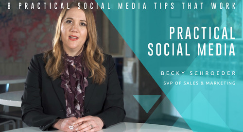 8 Practical Social Media Tips that Work
