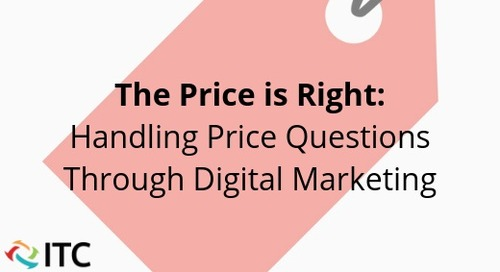 The Price Is Right: Handling Price Questions Through Digital Marketing