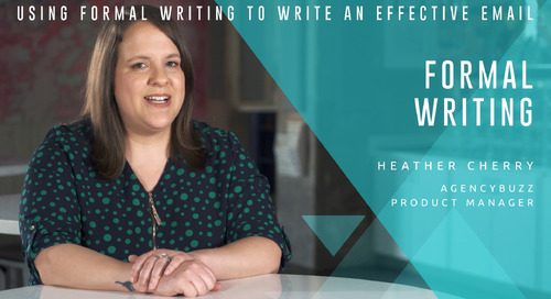 Using Formal Writing to Write an Effective Email