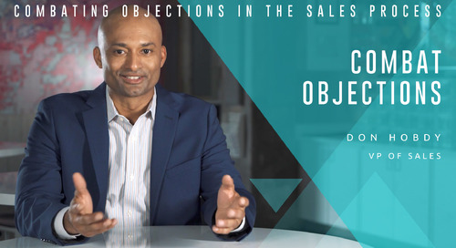 Combating Objections in the Sales Process