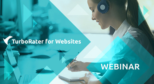 TurboRater for Websites Weekly Webinar