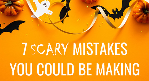 7 Scary Mistakes to Avoid on Your Insurance Website