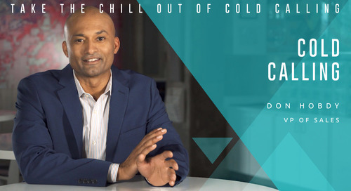 Take the Chill Out of Cold Calling