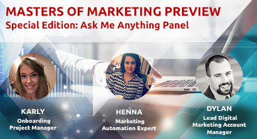 Ask Me Anything Panel with Digital Marketing Specialists