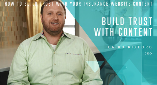 How to Build Trust with Your Insurance Website Content