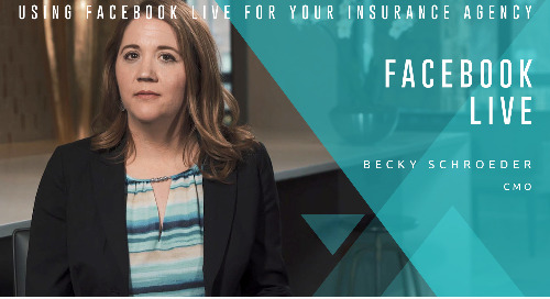 And, We're Live Using Facebook Live for Your Insurance Agency