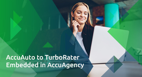 AccuAuto to TurboRater Embedded in AccuAgency