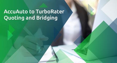 AccuAuto to TurboRater - Quoting and Bridging
