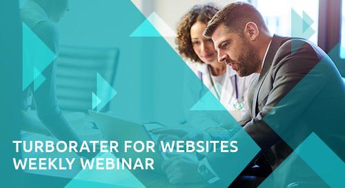TurboRater for Websites Webinar