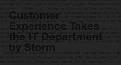 [Article] Nurturing customer experience across the organization