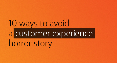 [Book] 10 Ways to Avoid A Customer Experience Horror Story