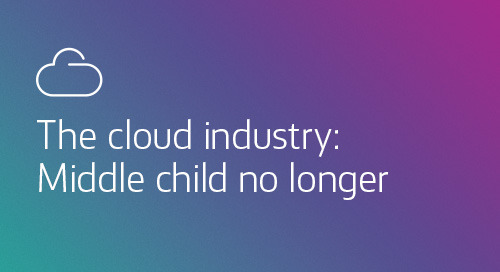 [Article] The cloud industry: Middle child no longer