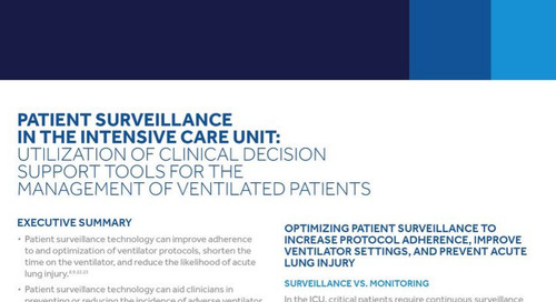 Patient Surveillance in the Intensive Care Unit