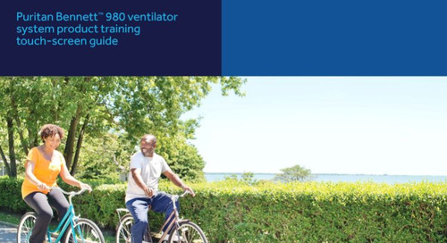 Touch Screen Training Guide: Puritan Bennett™ 980 Ventilator System