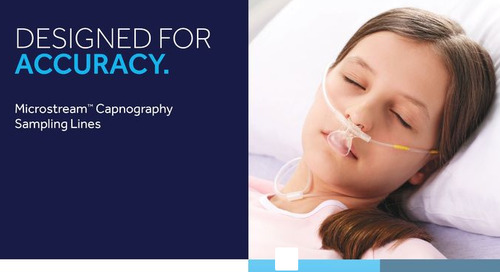 Microstream™ Capnography Sampling Lines are Designed for Accuracy