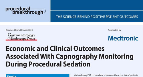 Economic and Clinical Outcomes Associated with Capnography Monitoring During Procedural Sedation