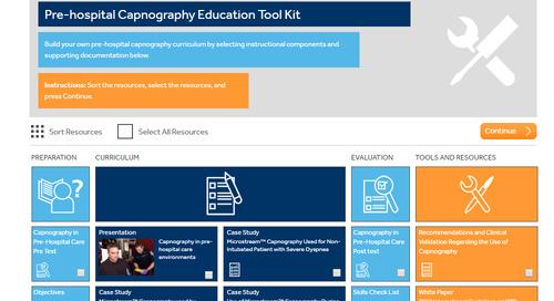 Pre-hospital Capnography Education Tool Kit