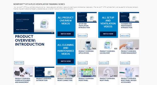 Newport™ HT70 Plus Ventilator Training Series