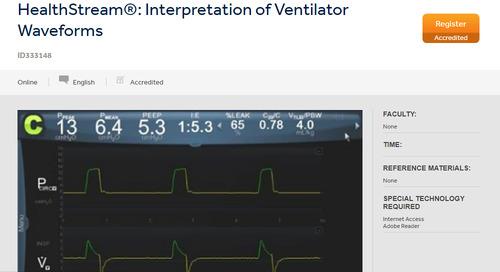 HealthStream®: Interpretation of Ventilator Waveforms