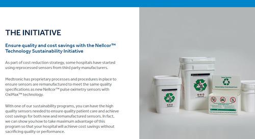 The Nellcor™ Technology Sustainability Initiative