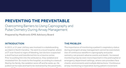 Preventing the Preventable: Overcoming Barriers to Using Capnography and Pulse Oximetry During Airway Management