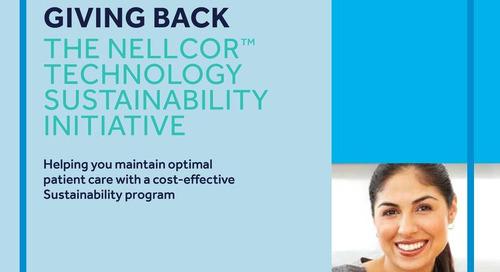 Brochure: The Nellcor™ Technology Sustainability Initiative