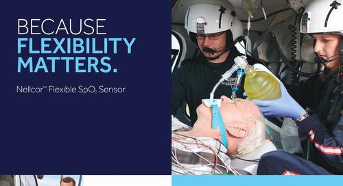 Brochure: Nellcor™ Flexible SpO2 Sensor