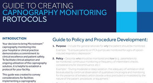 Guide to Creating Capnography Monitoring Protocols