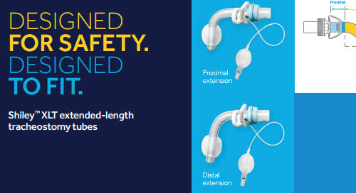 Sizing Guide: Shiley ™ XLT Extended-length Tracheostomy Tubes