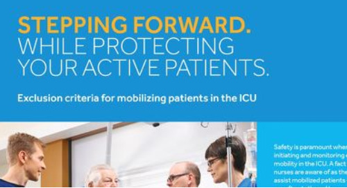 Exclusion Criteria for Mobilizing Patients in the ICU