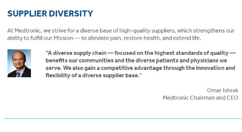 Read About Our Supplier Diversity Program
