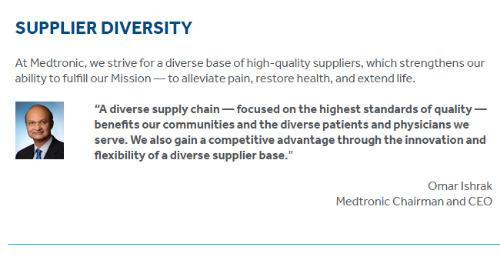 Read About Our Supplier Diversity Program