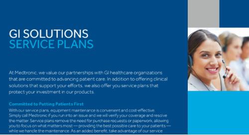 GI Solutions Service Plans Brochure