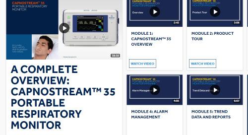 Portable Respiratory Monitor Training Videos