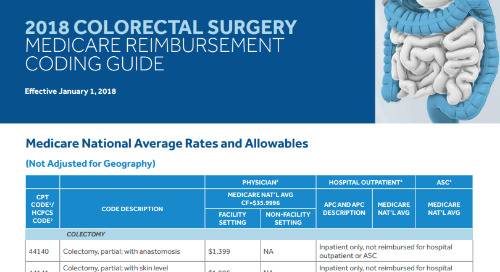 Coding Guide: Colorectal Surgery Medicare Reimbursement