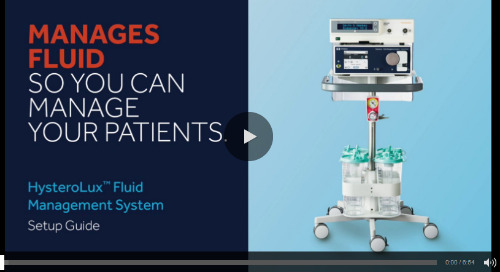 HysteroLux™ Hysteroscopic Fluid Management System In-Service Video [Watch Now]