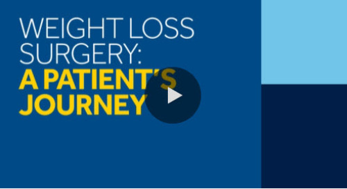 Patient Testimonial: Weight Loss Surgery [Watch Now]