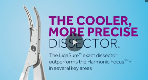 Video: LigaSure™ Exact Dissector vs. Harmonic Focus™*+ Thermal Profile